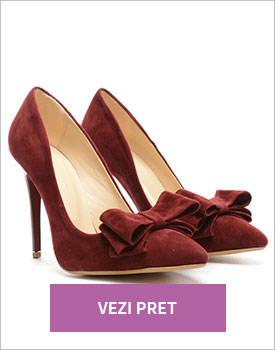Pantofi Cibo grena