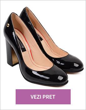Pantofi din piele naturala Diva
