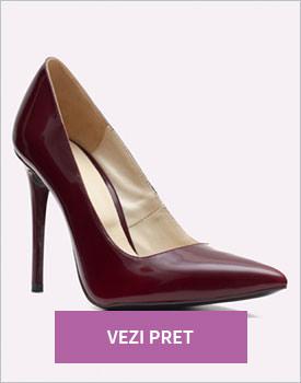Pantofi din piele Kapena