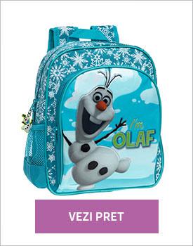 Ghiozdan Olaf turcoaz