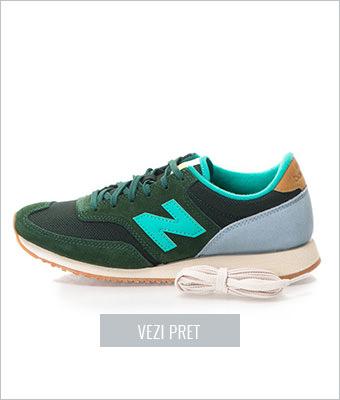 Tenisi verde inchis New Balance