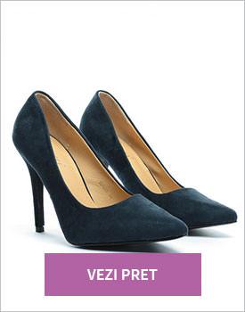 Pantofi Zora bleumarin