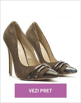 Pantofi Femin khaki