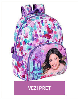 Ghiozdan rucsac Disney Violetta Love Music Butterfly