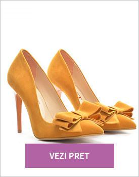 Pantofi Mares camel