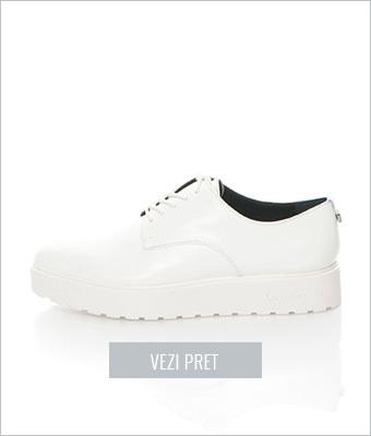 Pantofi Oxford flatform Calvin Klein