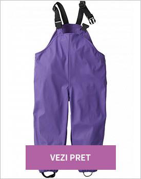 Pantaloni termo lila