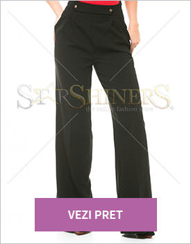 Pantaloni Fofy Proper Limits negri