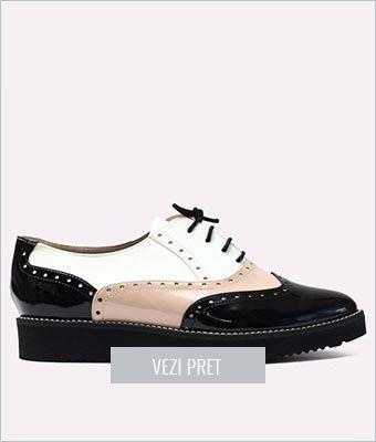 Pantofi dama piele cu flatforma Mesui
