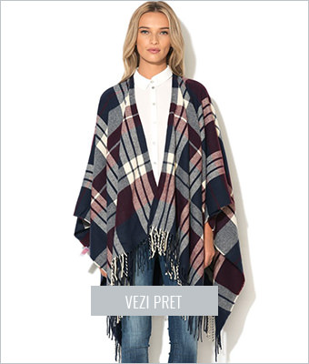 Poncho tricolor Only