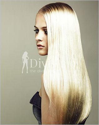 Extensie par blond-cenusiu inchis Microring