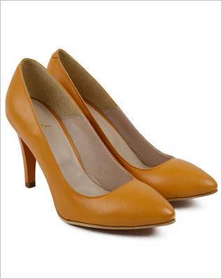 Pantofi din piele naturala Chloe
