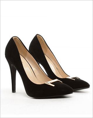 Pantofi Hampa negri