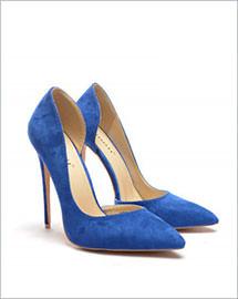 Pantofi Bizar albastri