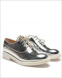 Pantofi casual Abel argintii