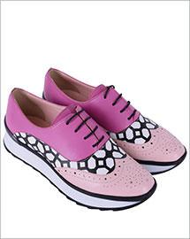 Pantofi din piele naturala Deborah