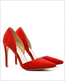 Pantofi Dablin rosii