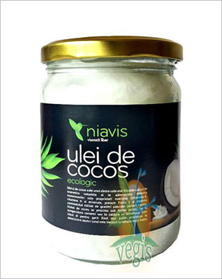 Ulei de cocos virgin ecologic