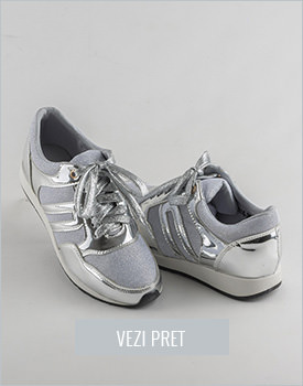 Pantofi dama sport gri Lydia