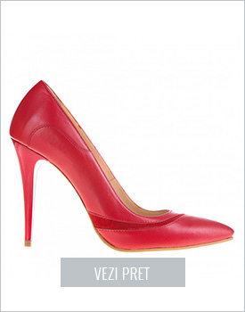 Pantofi Wendy piele naturala