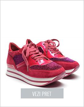 Pantofi sport Gomez fuchsia