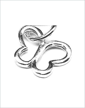 Pandantiv argint fluturas