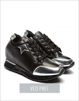 Pantofi sport Valento negri