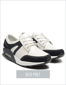 Pantofi sport Aerox albi