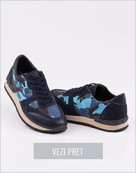 Pantofi dama sport albastri Nevarez