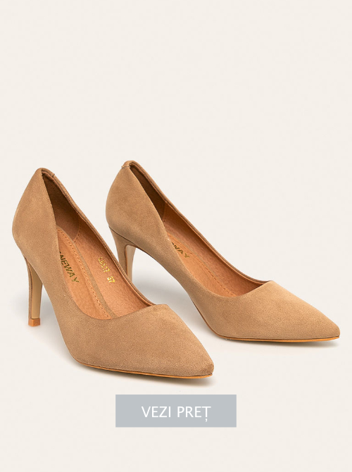 Pantofi cu toc Janeway