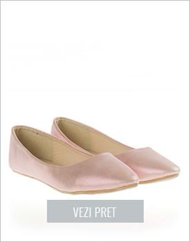 Balerini roz casual Melrose