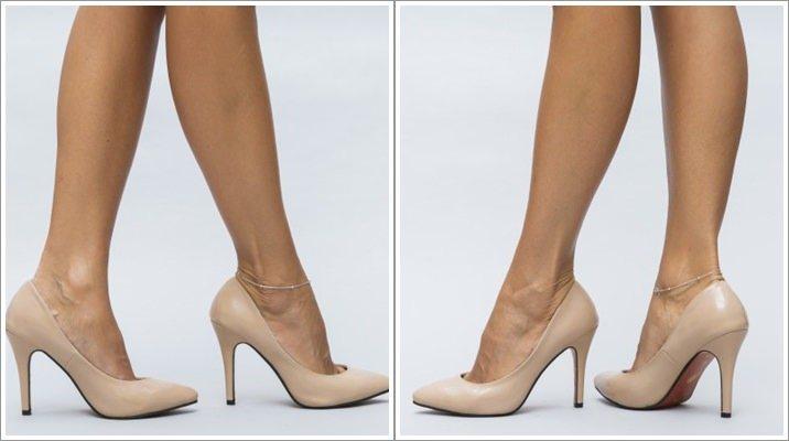 Pantofi stiletto nude Walo pentru femei