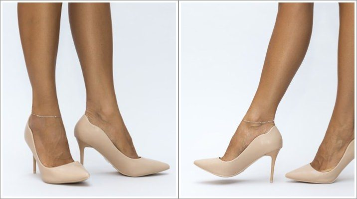 Pantofi Moris bej piele sintetica