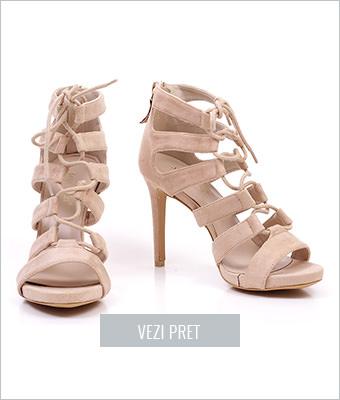 Sandale dama Aza bej