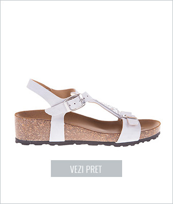 Sandale din piele naturala Via Alina