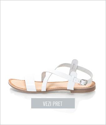 Sandale albe Allegri