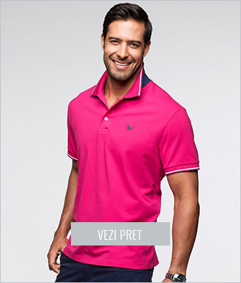 Tricou polo regular fit BPC