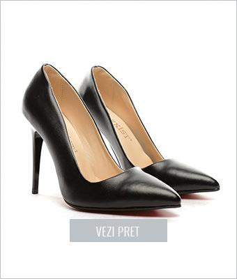 Pantofi Cleoma negri