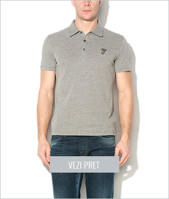 Tricou polo Versace Collection
