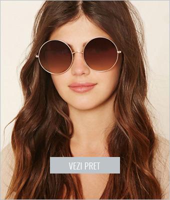 Ochelari de soare cu lentila rotunda Forever21