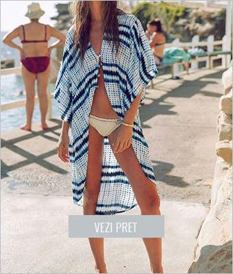 Rochie de plaja din voal