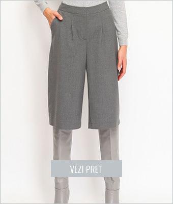 Pantaloni Top Secret gri