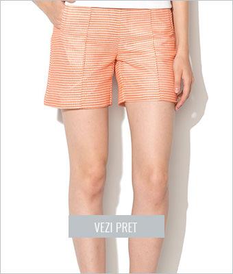 Pantaloni oranj prafuit Mexx