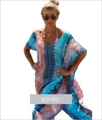 Rochie de plaja Chic Graphic Miami