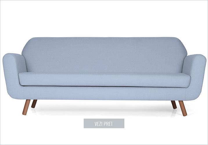 Canapea fixa 3 locuri Rizzo