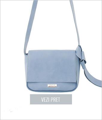 Geanta bleu Simple