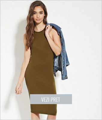 Rochie Forever21 olive