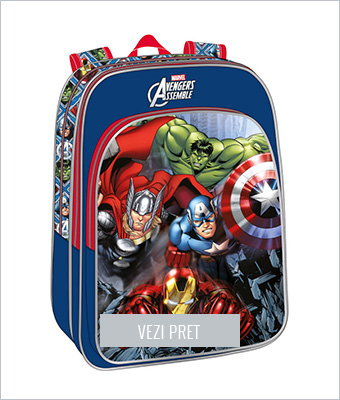 Ghiozdan de scoala Avengers