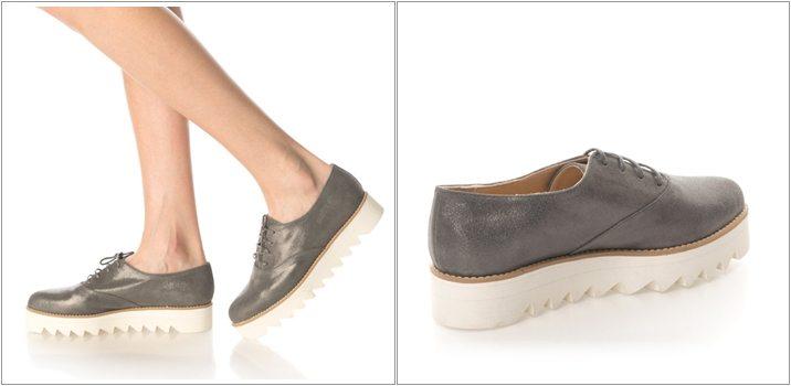 Pantofi flatform Oxford Mihaela Glavan
