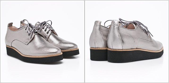 Pantofi Oxford talpa groasa Gino Rossi